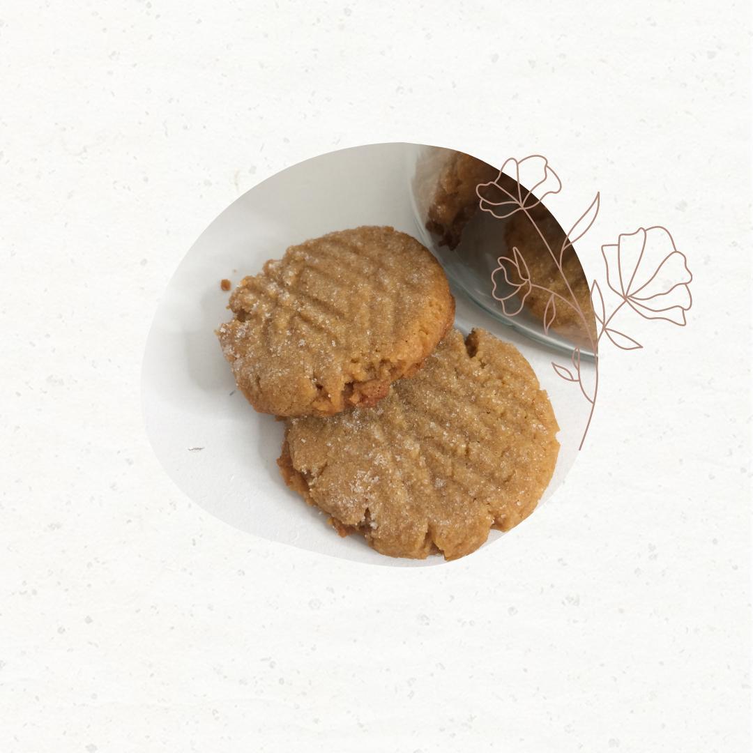 Simple No Flour Peanut Butter Cookies