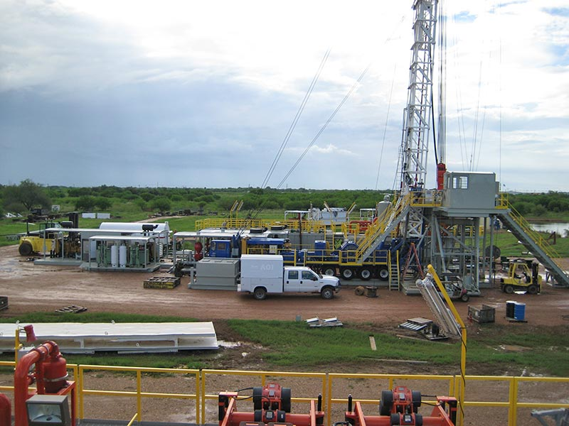 ReconAfrica Crown 1000 HP Drilling Rig Base