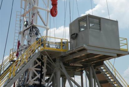 ReconAfrica Crown 1000 HP Drilling Rig Control Room