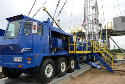 ReconAfrica Crown 1000 HP Drilling Rig Truck
