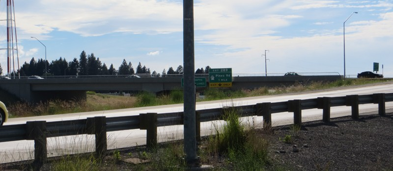 Evergreen Road Interchange