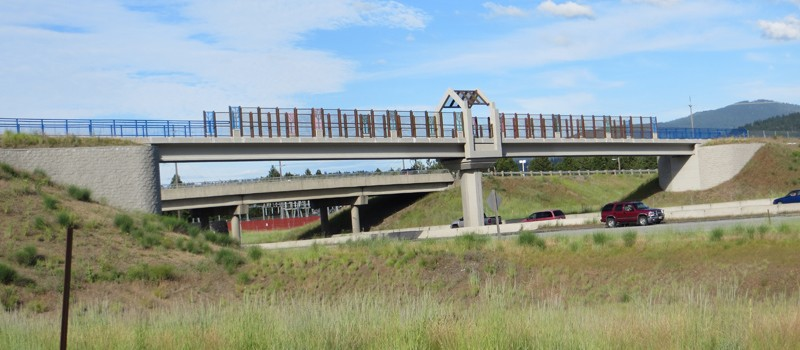 Centennial Trail Freeway Bridge