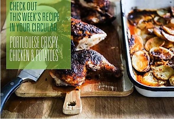 Portuguese Crispy Chicken & Potatoes