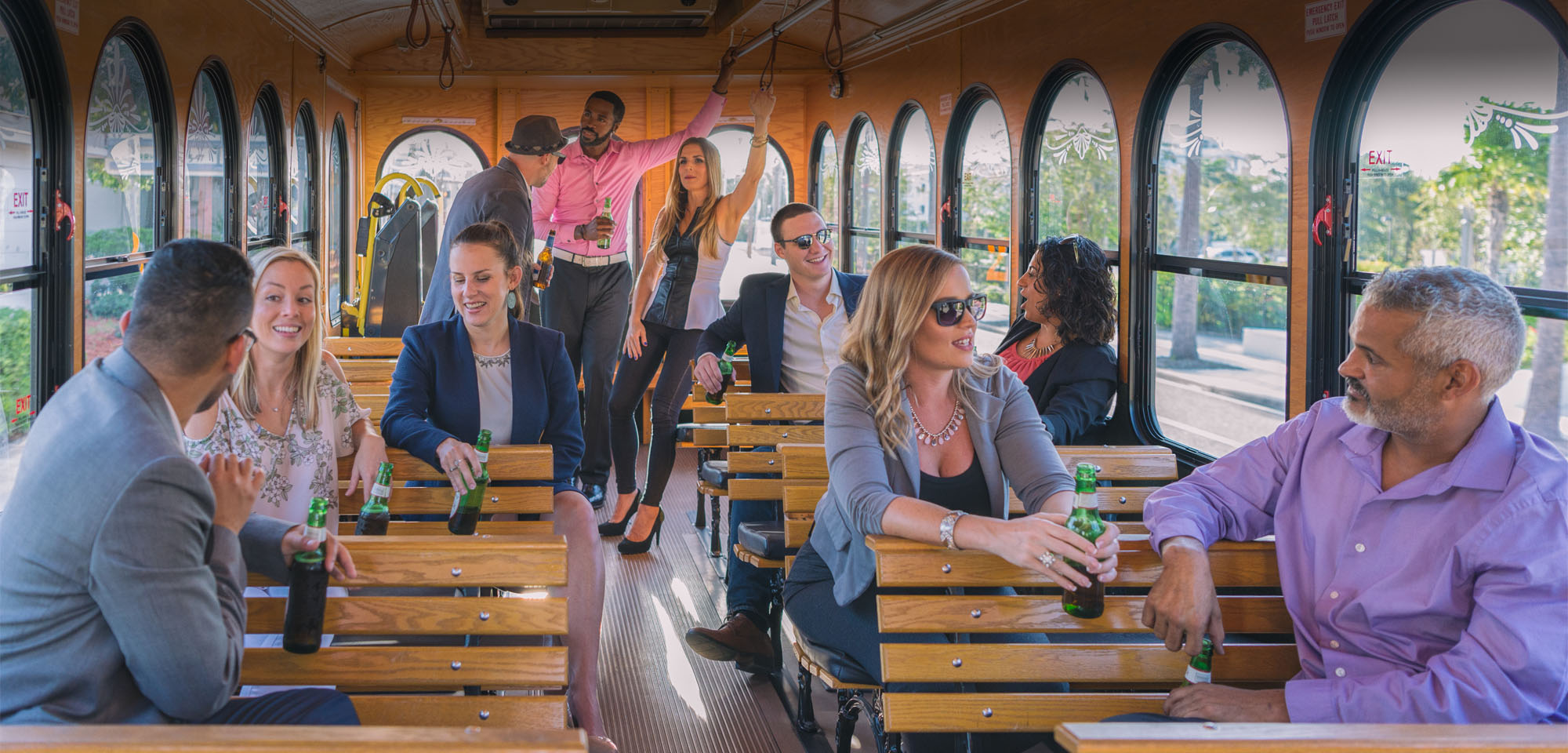 Clearwater Jolley Trolley for Corporate Events