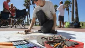 Clearwater Beach Chalk Art Festival @ Clearwater Beach