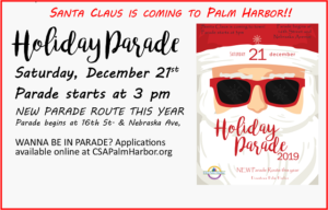 Annual Holiday Parade @ Downtown Palm Harbor
