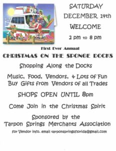 Christmas on the Sponge Docks @ Tarpon Springs Sponge Docks