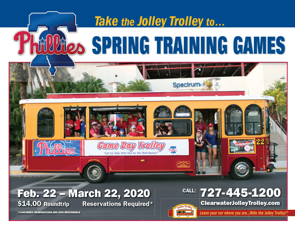 Take the Trolley to Phillies Spring Training Games
