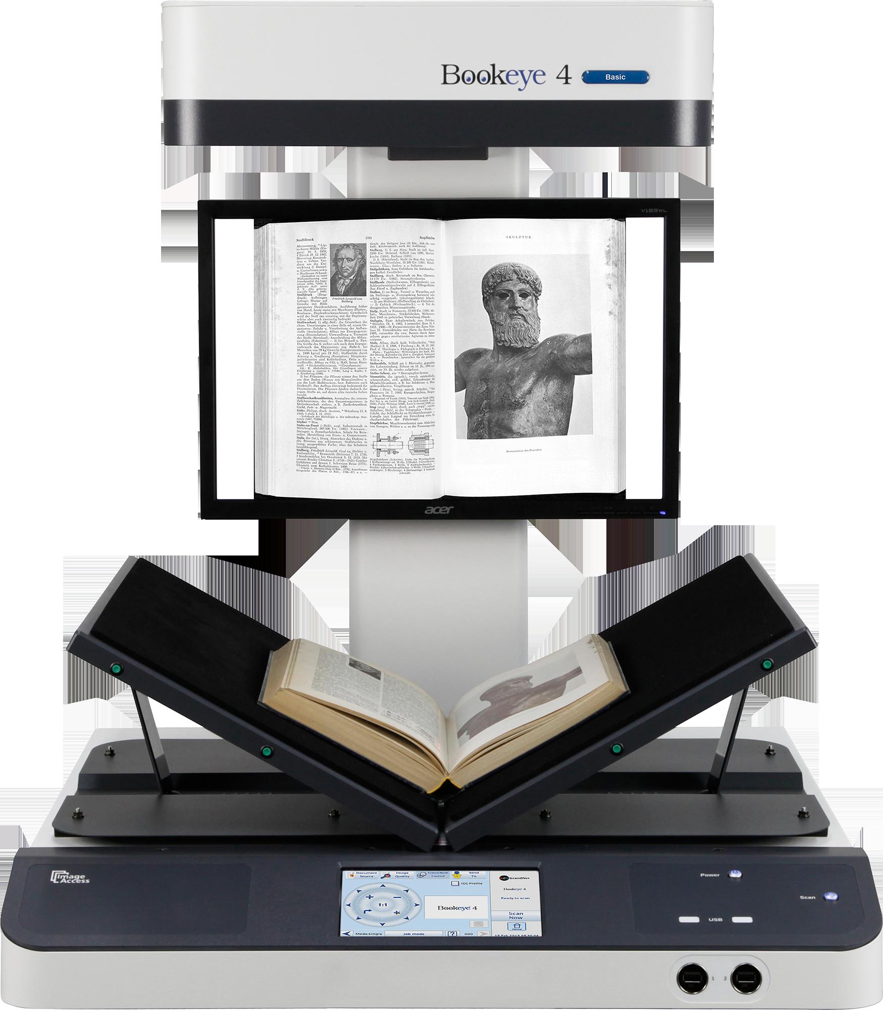 Image Access – Bookeye 4 V2 Basic