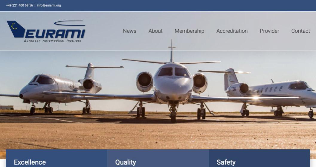Fox Flight Air Ambulance Reaccredited by EURAMI
