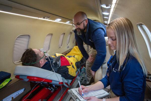 Fox Flight Patient Care Interior View