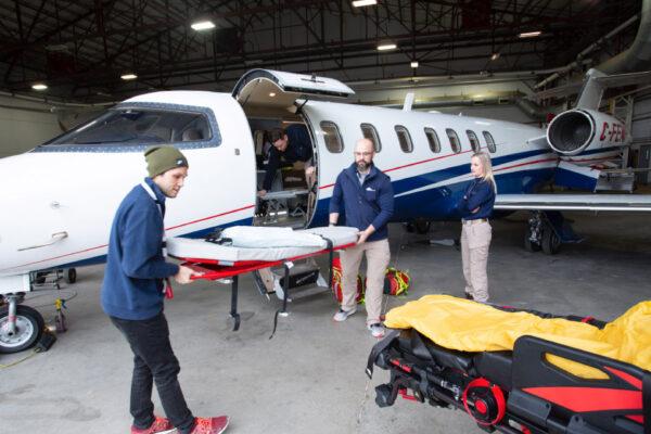 Fox Flight Patient Care Preparing