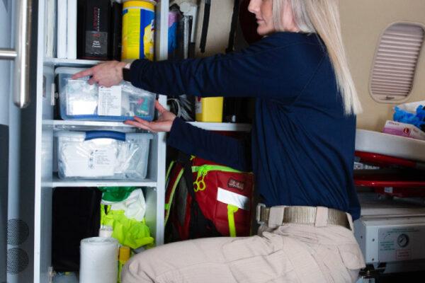 Fox Flight Patient Care Preparing Interior