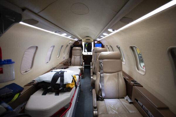 Learjet 40XR Interior