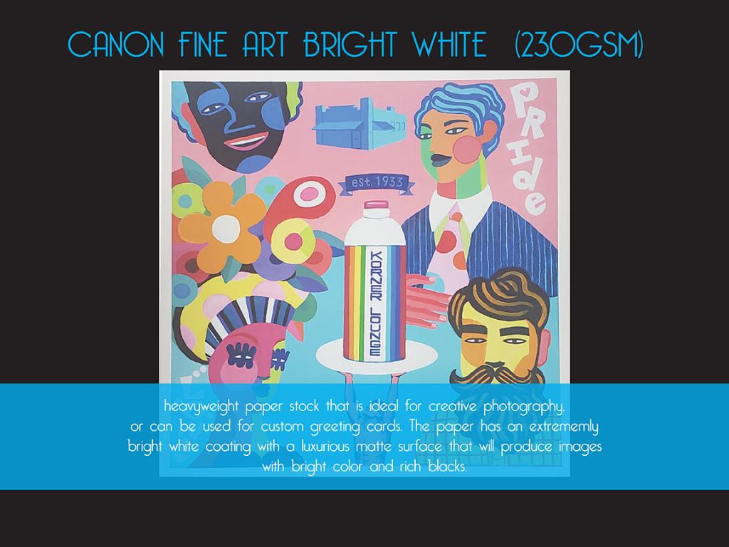 Canon Fine Art Bright White