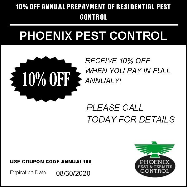 10% Off Pest Control