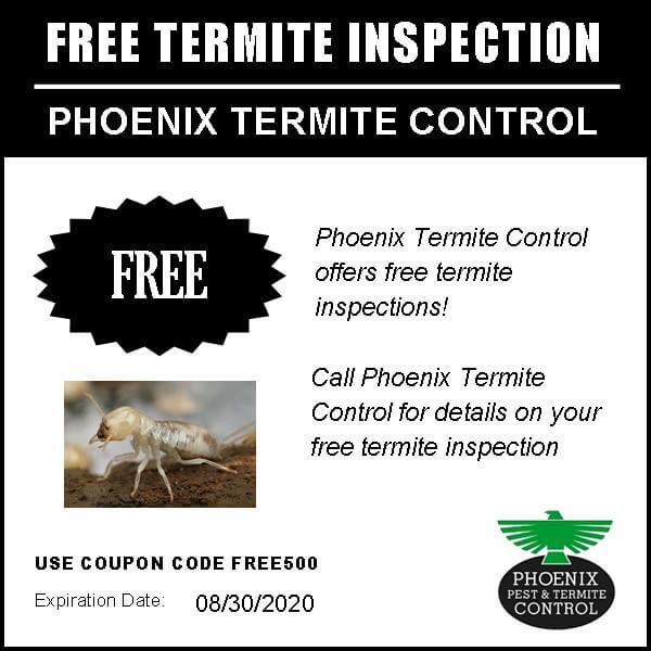 FREE TERMITE INSPECTION COUPON