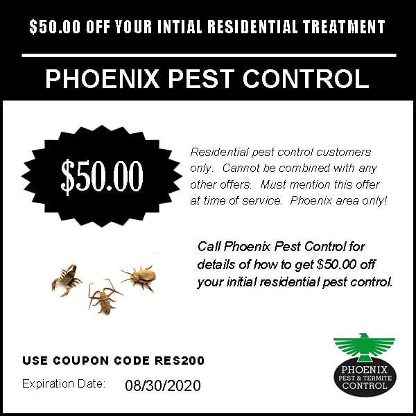 $50 Off Pest Control