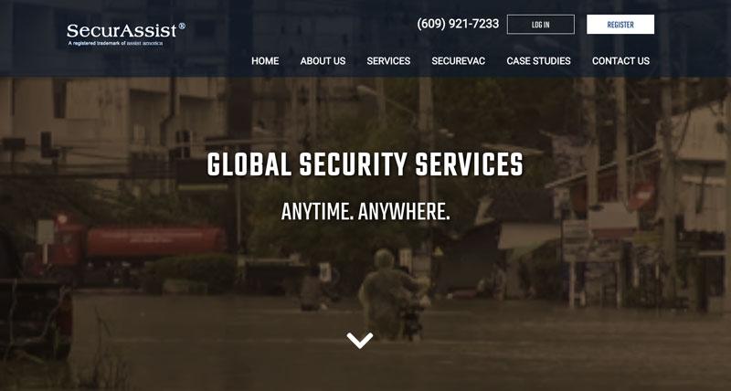 SecurAssist Website Design