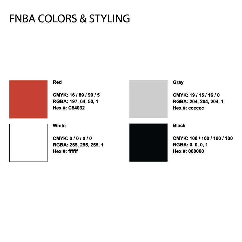 Defined Color Codes