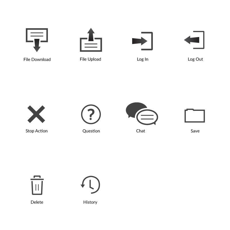 FNBA Portal Icon Library