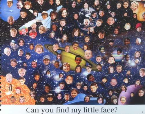 space page of find me if you can