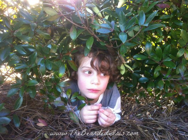 hide and seek bucket head