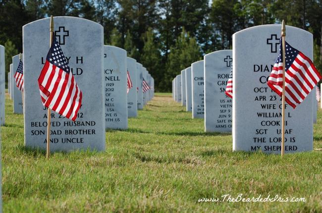Georgia National Cemetery Memorial Day 2013