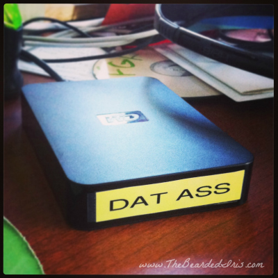 Dat Ass by The Bearded Iris