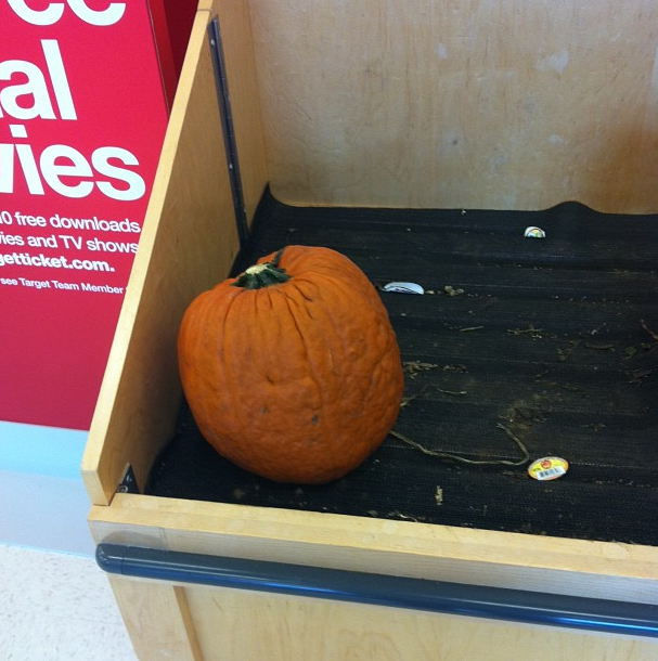 saddest pumpkin ever