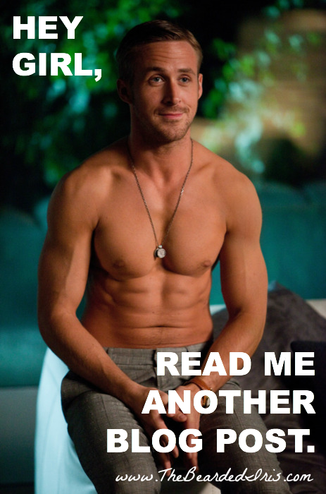 Hey girl read me another blog post