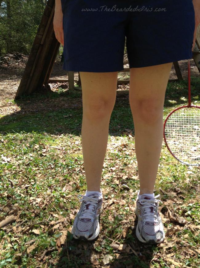 OMG my knees look like babies via The Bearded Iris