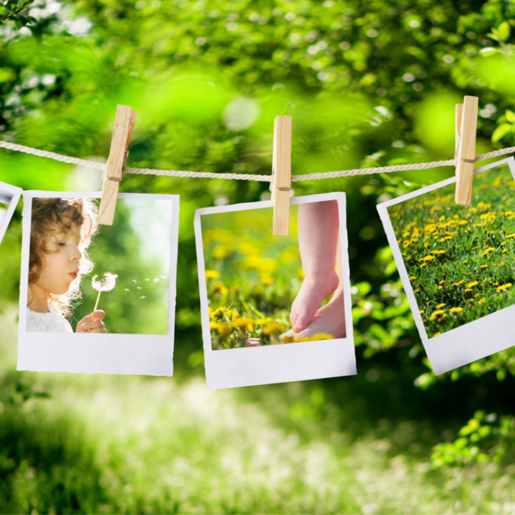 childhood memories like vintage Polaroids. What my childhood taught me about being a mother.