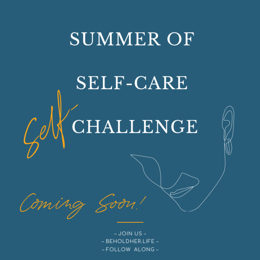 beholdher.life summer of self care self challenge blog no 3 curbside pickup lessons on letting go