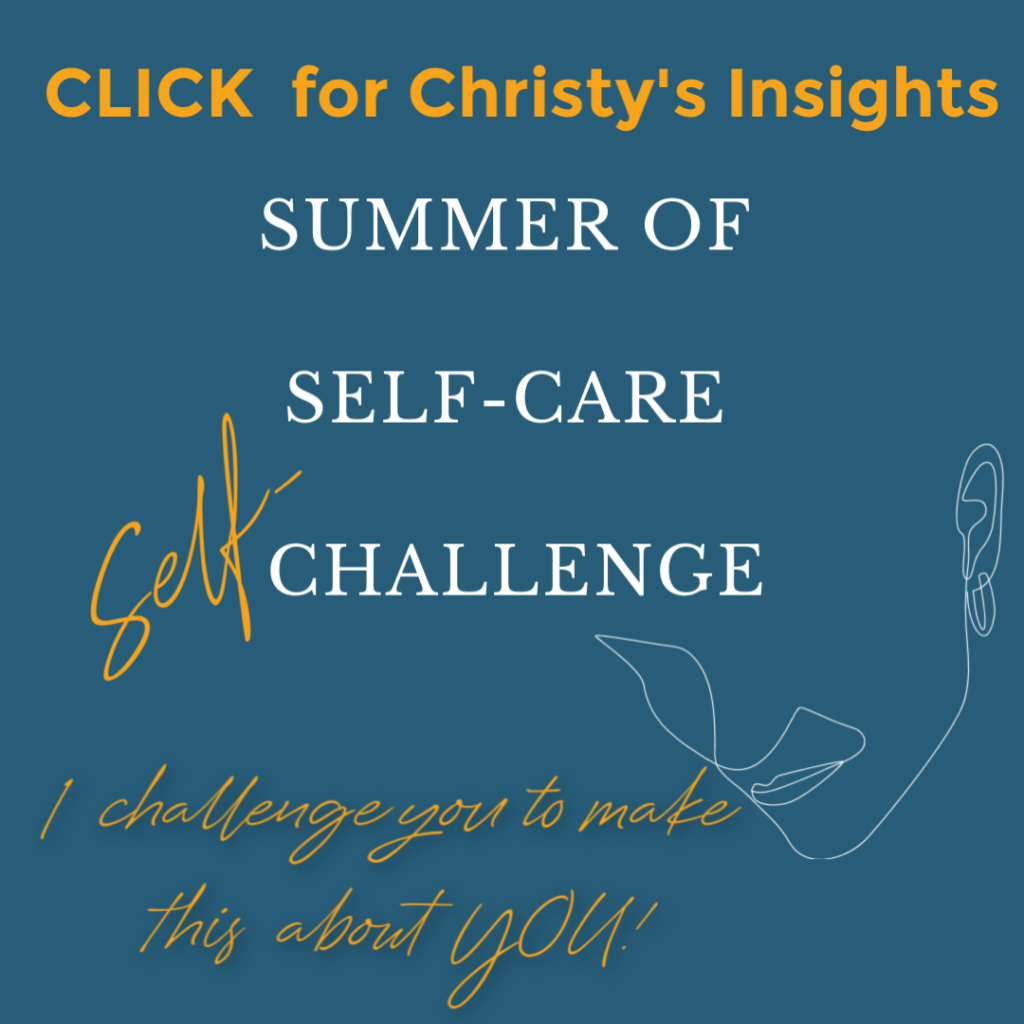 beholdherlife the summer of self0care challenge christy;s insight click to read