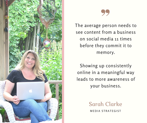 Fact and Quote from Sarah Clarke of sarahclarke.biz Elevate Business Program