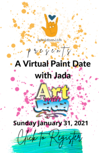 virtual paint date with jada