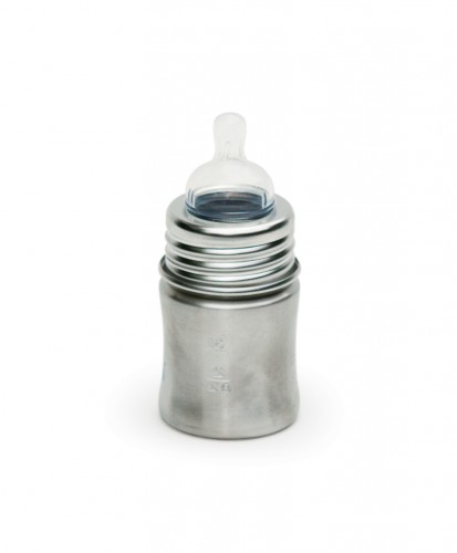 Small Stainless Steel Baby Bottle