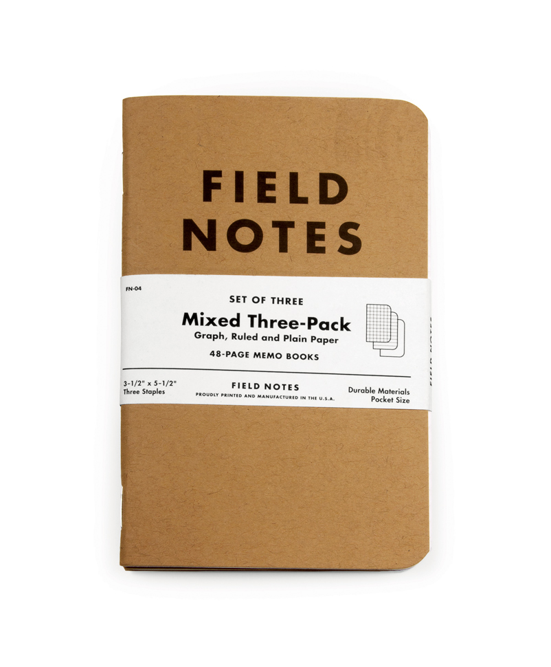 Field Notes 3 Pack
