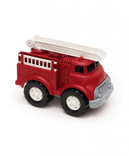 Fire Truck from Recycled Bottles