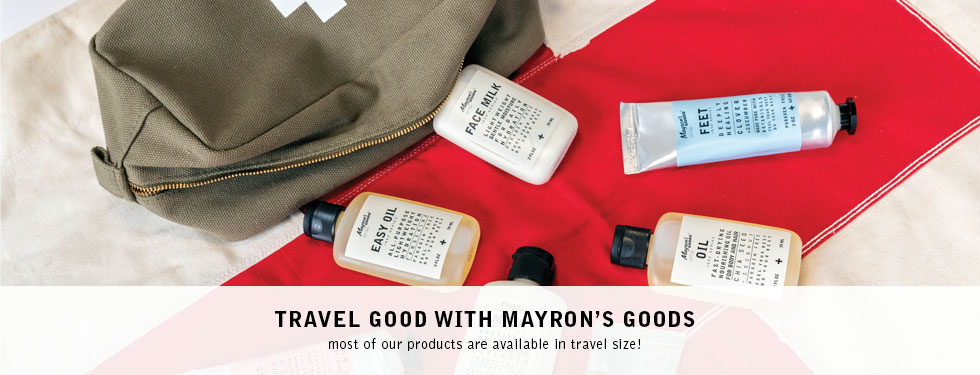 Travel Good with Mayron's Goods