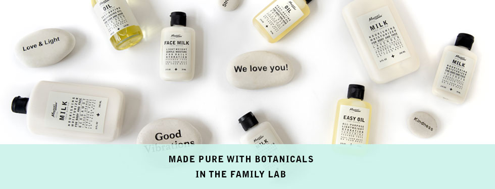 Products made with botanicals