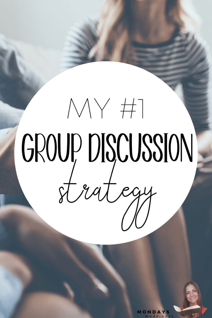 My #1 Group Discussion Strategy