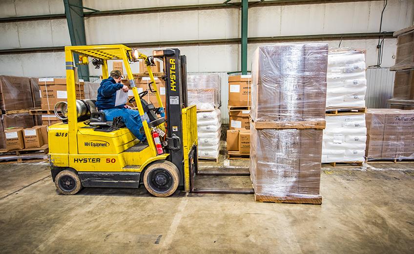 Wagner Logistics Forklift