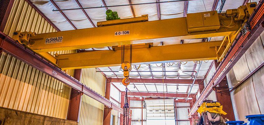 40 Ton Transport Crane