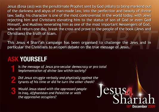 Jesus for Sharia 2