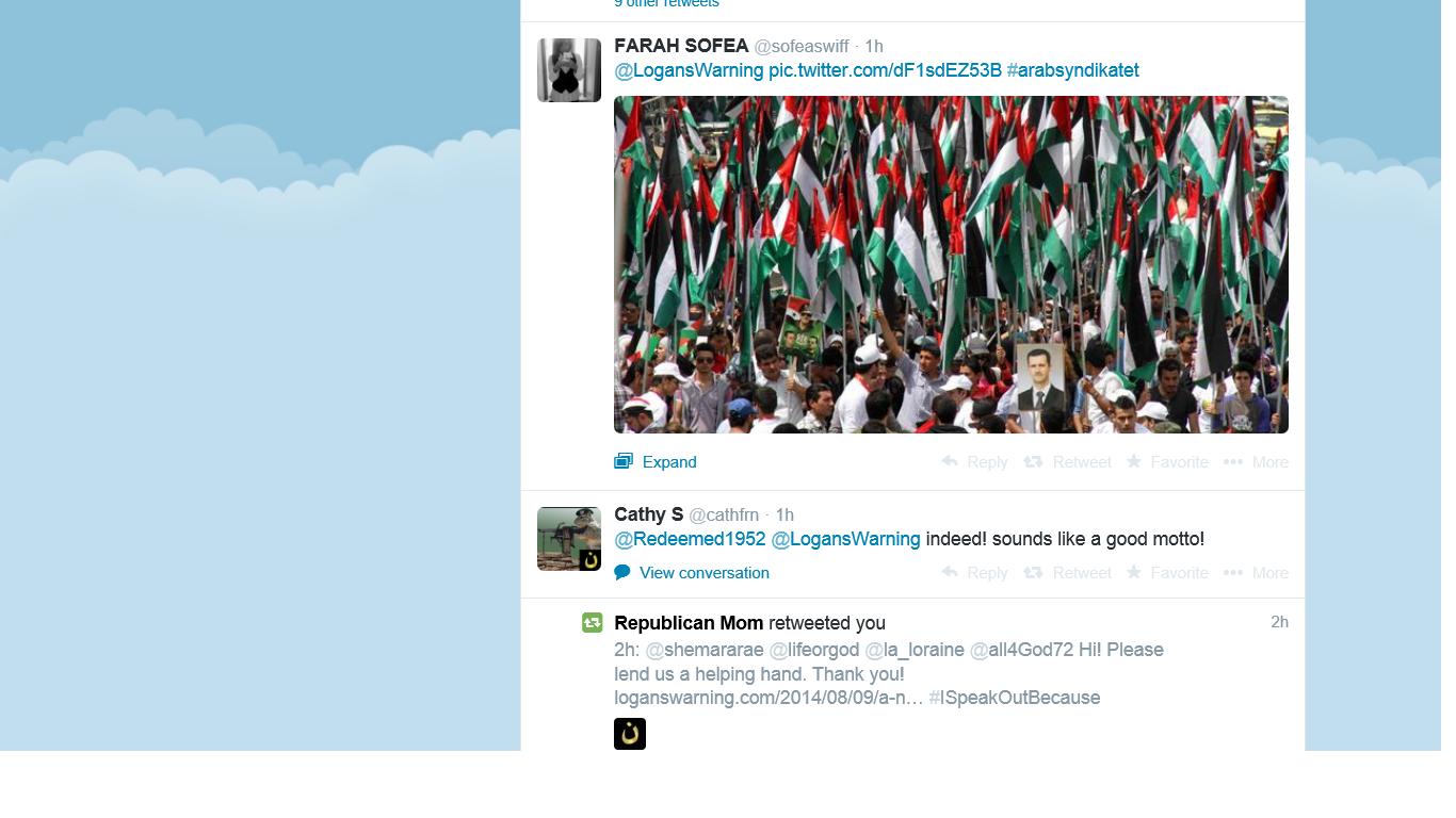 Farah sends Assad