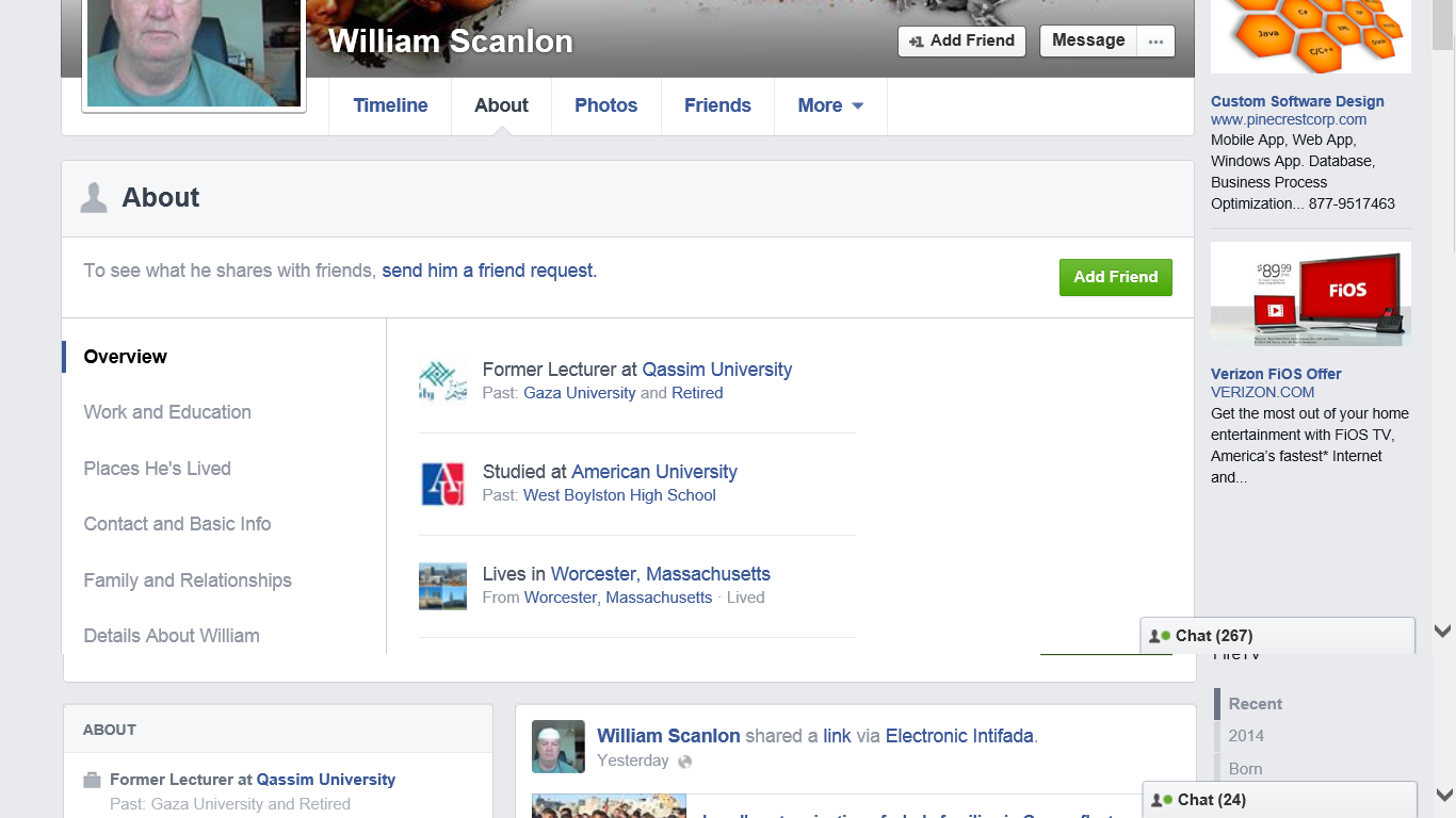 William Scanlon profile 3