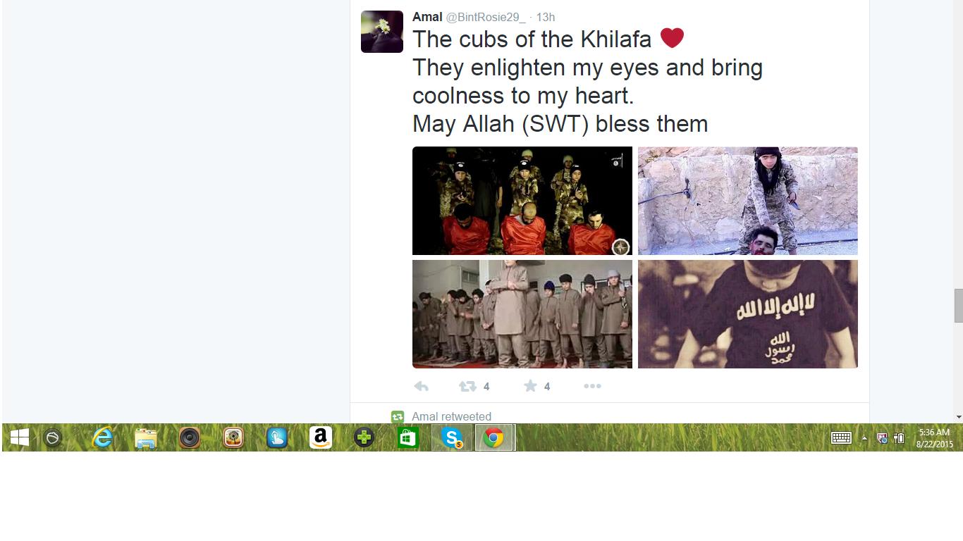 Amal cubs beheading