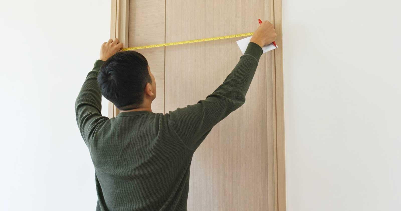 How to measure a screen door